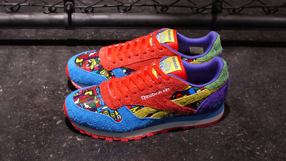 """dd8815e66f7 LIMITED EDITION  Reebok CL Leather """"TOKYO   RIMO"""""""