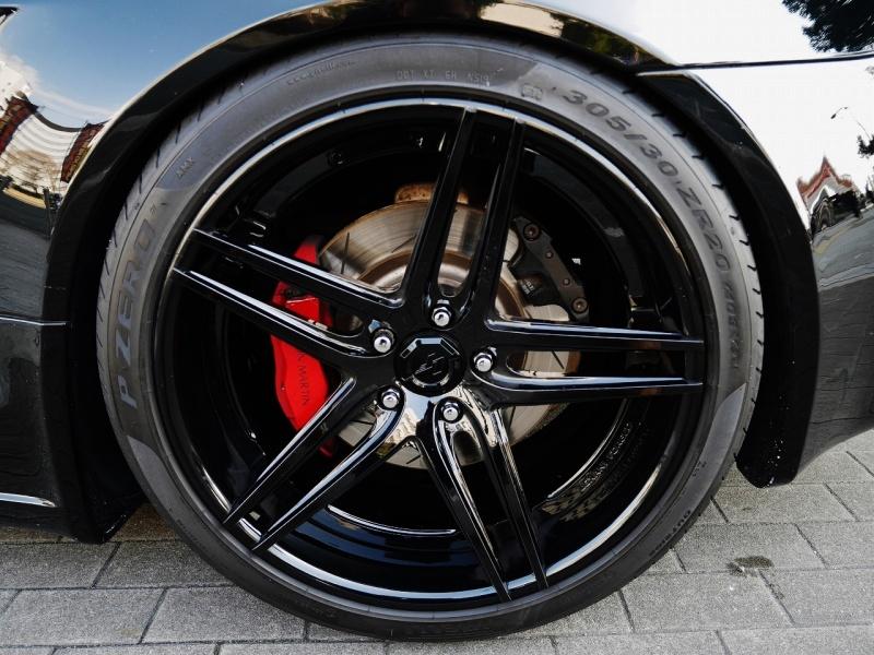 Jet Black Aston Martin >> 2006 Aston Martin V8 Vantage MANSORY Full Aero / LEXANI LZ-105 Forged Wheel / Jet Black Color ...