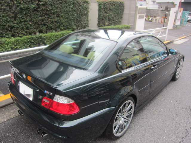 2001 Bmw M3 3 2 Oxford Green Ii Color Done 43 000 Km Japan Order